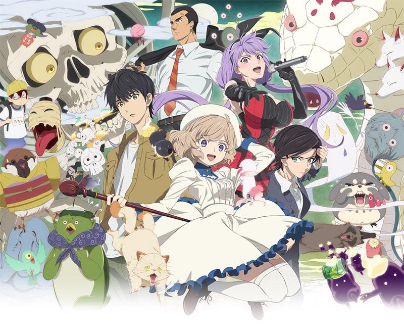 Anime In/Spectre thông báo sẽ ra mắt season 2 trong năm sau