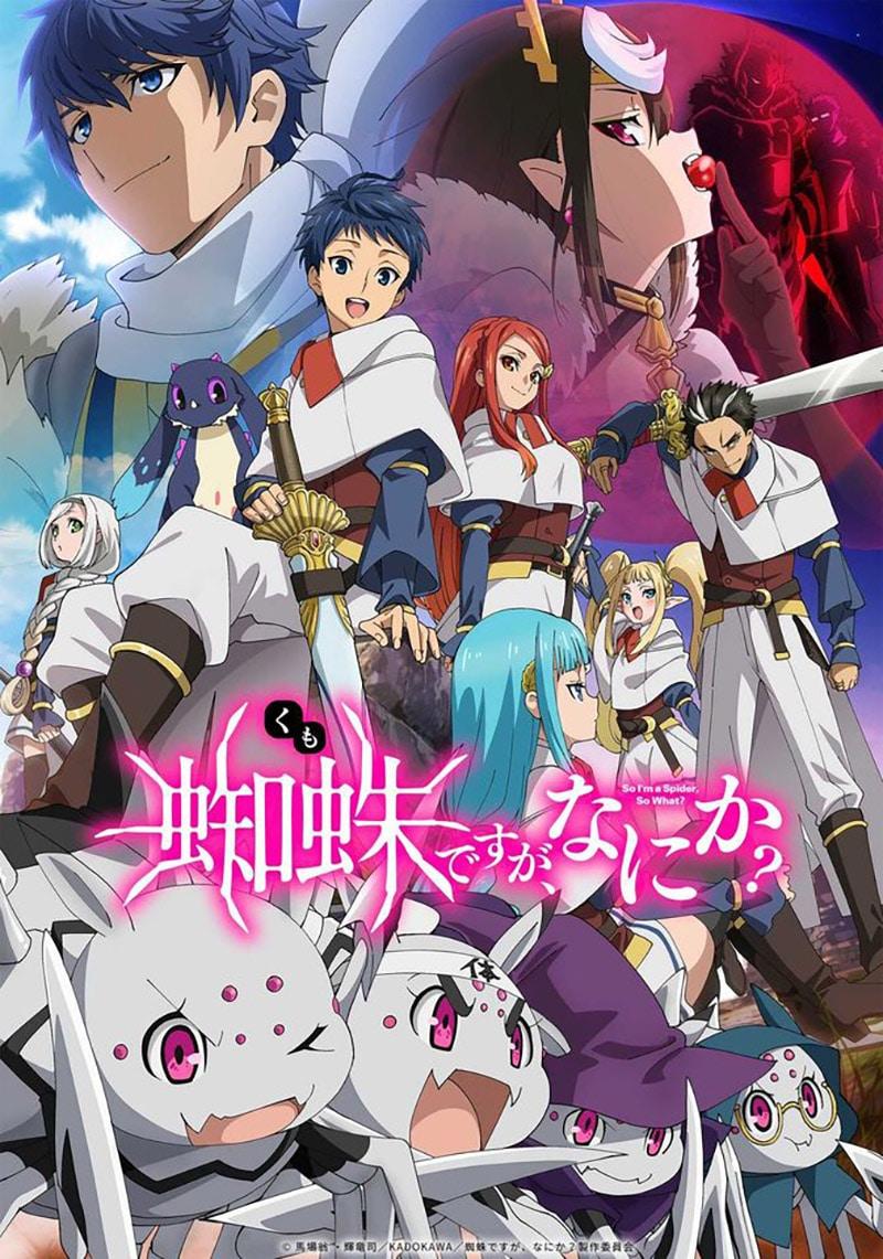 """Anime Kumo Desu Ga, Nani Ka tung trailer xác nhận ngày """"Chuyển Sinh Thành Nhện"""""""