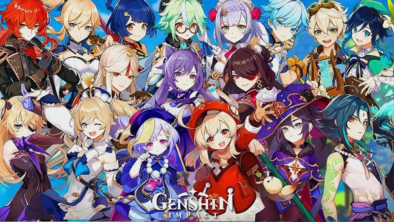 Genshin Impact tiếp tục đứng đầu tại thị trường Trung Quốc