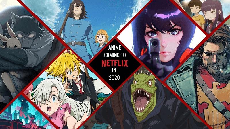 Netflix sẽ đầu tư mạnh vào anime, dự kiến ra mắt 10 series mới trong năm 2021