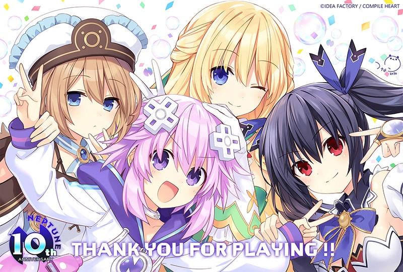Trình chiếu PV mới cho game Go! Go! 5 Jiden Game Neptune re★Verse