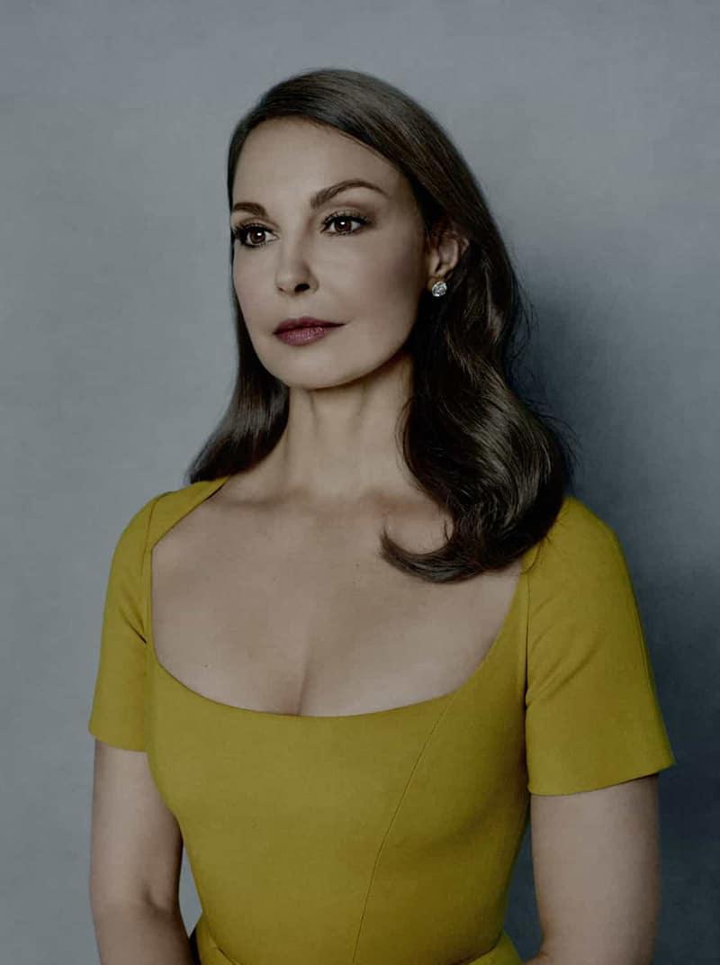 Ashley Judd, người khởi xướng phong trào #MeToo. Ảnh chụp trên tạp chí Time, vinh danh cô là một trong số những nhân vật của năm 2017.
