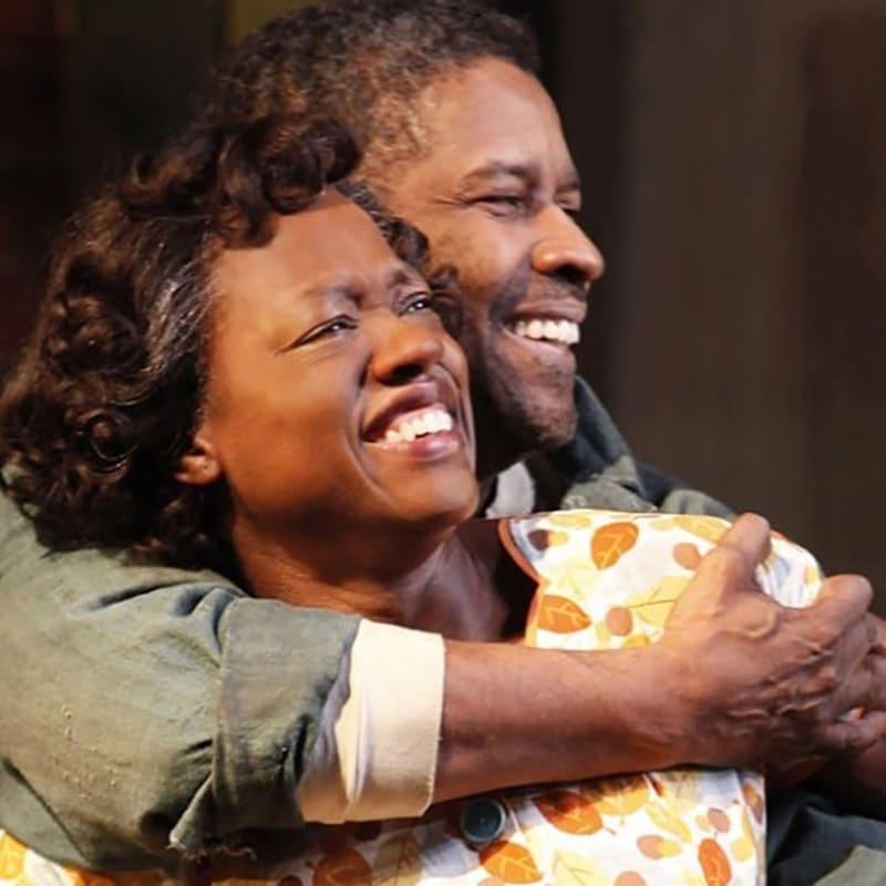 Viola Davis trong vở kịch Fences diễn cùng Denzel Washington.
