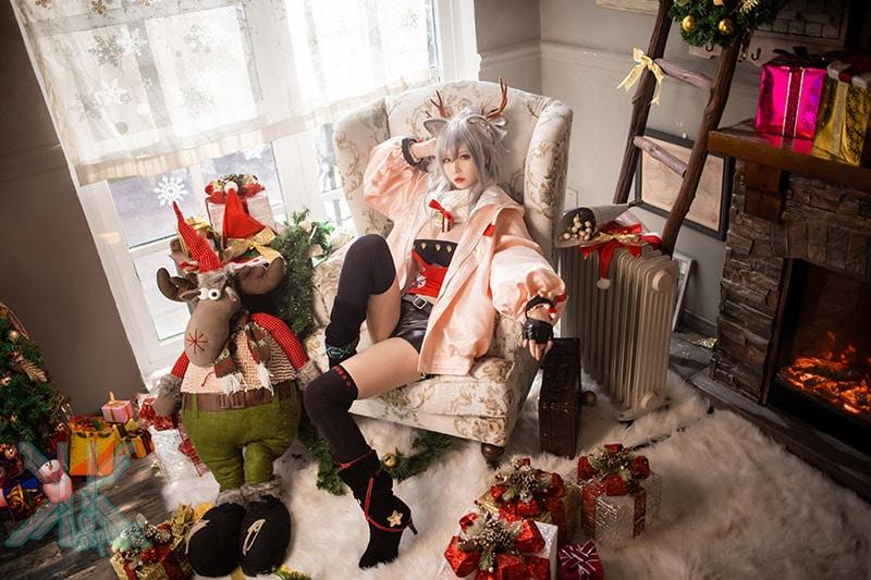 "Bộ ảnh cosplay ""Reindeer Girl"""