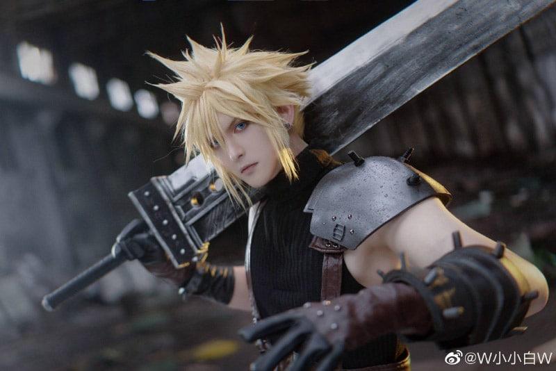 Bộ ảnh cosplay Final Fantasy VII Remake của Coser Tiểu Nhu