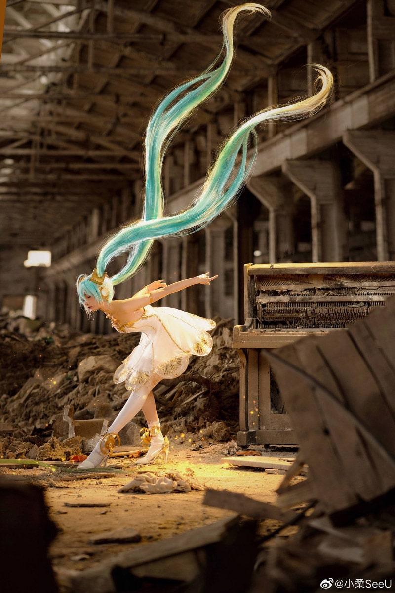 Bộ ảnh Cosplay Hatsune Miku đến từ coser Tiểu Nhu