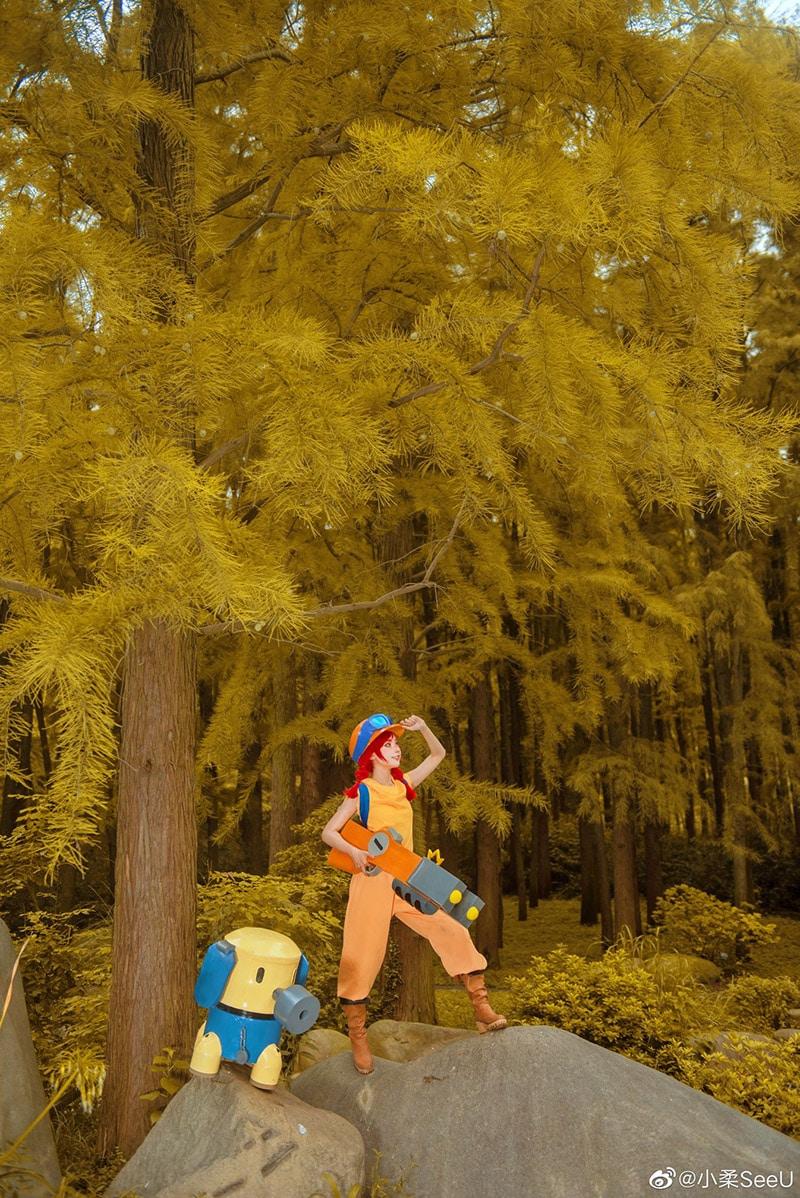 Bộ ảnh cosplay Jessie trong game Brawlstars (Coser Tiểu Nhu)