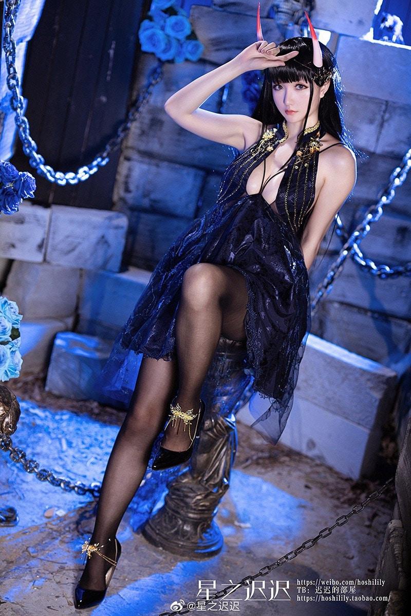 Bộ ảnh cosplay Noshiro trong game Azur Lane