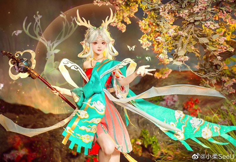 Bộ ảnh cosplay Yao trong game Vương Giả Vinh Diệu