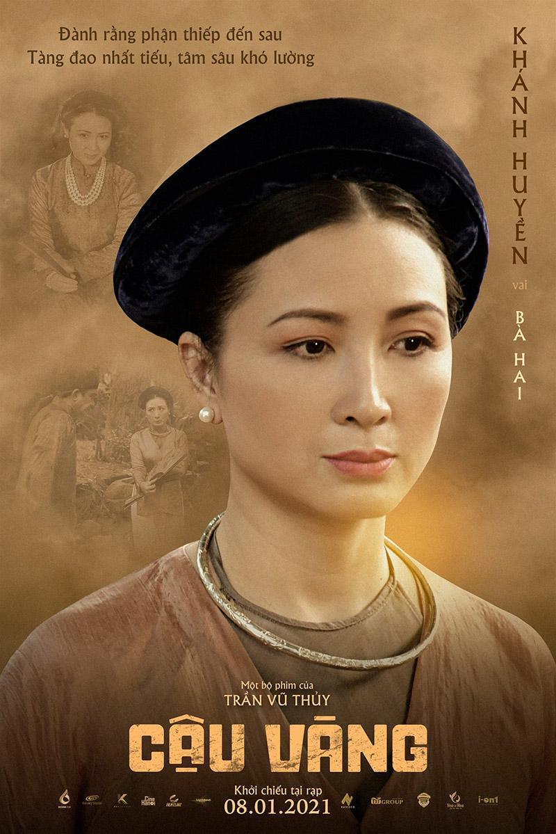 Khánh Huyền vai Bà Hai