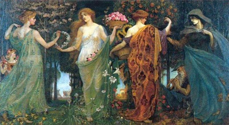 Persephone, Demeter và Hecate.