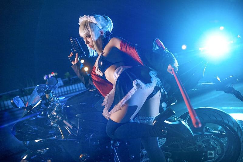 cosplay Artoria Pendragon (Rider Alter) trong Fate/Grand Order