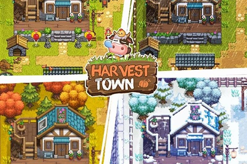 Harvest Town (2019) - Game nhập vai mô phỏng nông trại