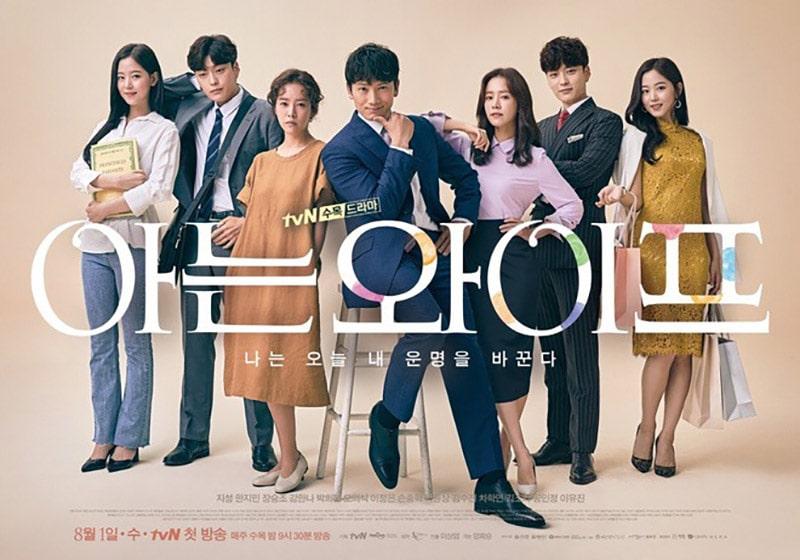 Cha Joo Hyuk trong Familiar Wife (2018)