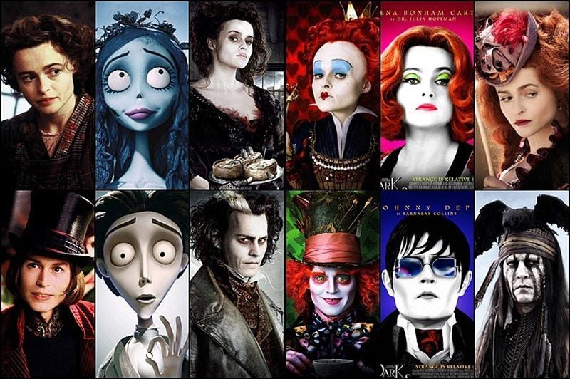 Johnny Depp và Helena Bonham Carter