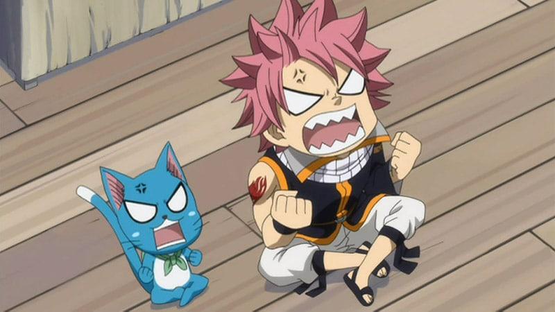 Natsu & Happy (Fairy Tail)