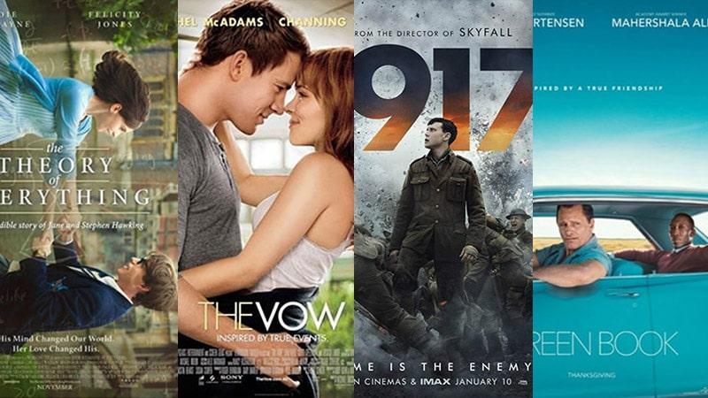 Top 10 phim chuyển thể từ câu chuyện có thật hay nhất