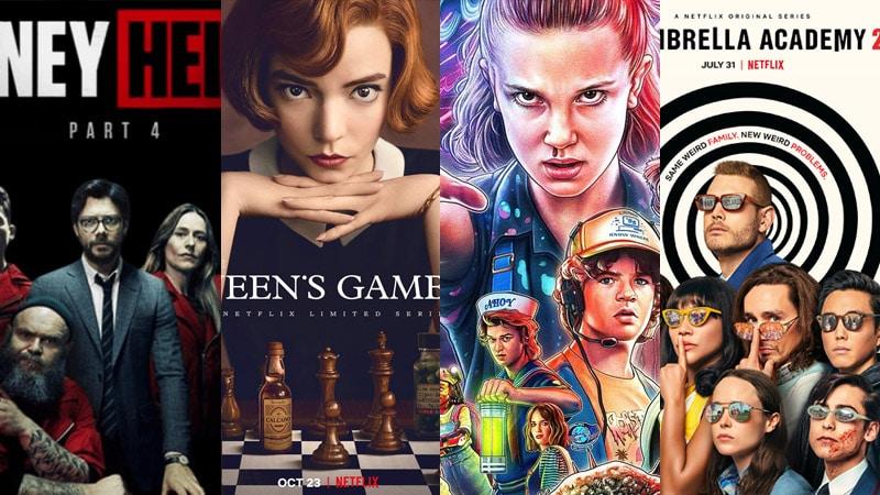 Top 10 series phim có nhiều người xem nhất trên Netflix trong năm 2020