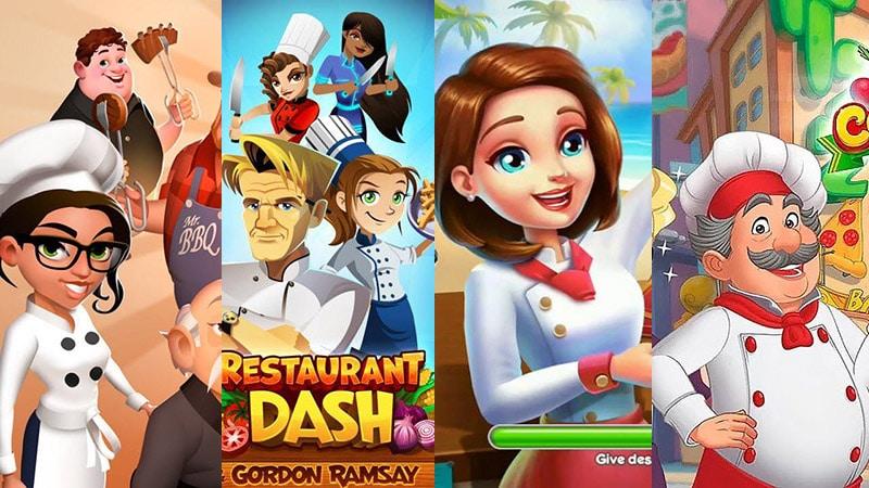 Top 7 Game Nấu Ăn hay nhất trên Android và iOS