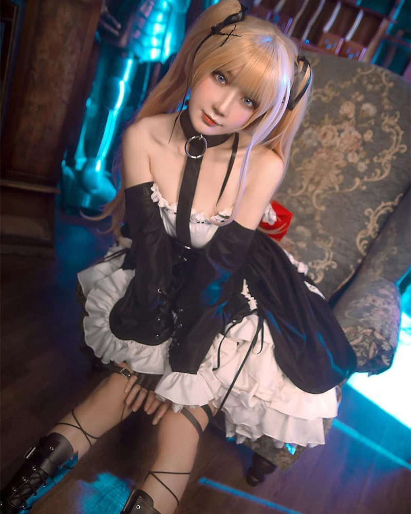 Bộ ảnh cosplay Marie Rose trong game Dead or Alive