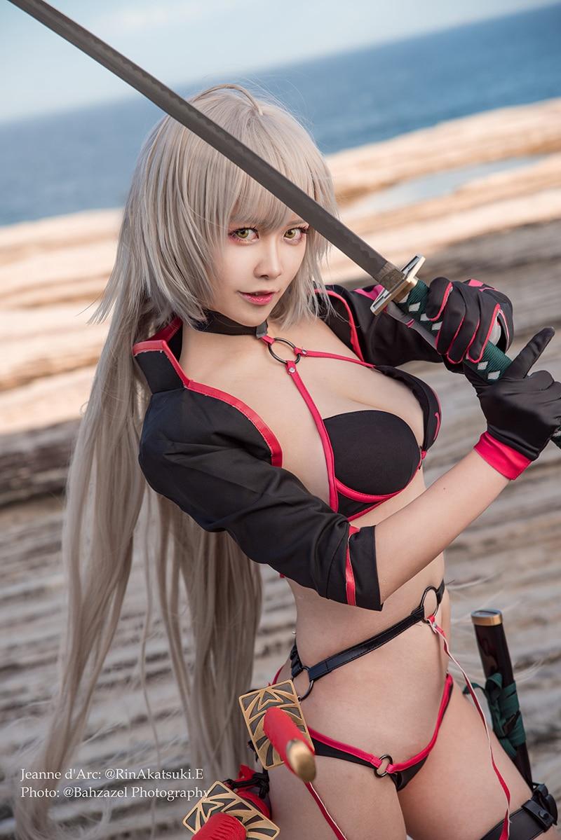 Bộ ảnh cosplay Rin Akatsuki - Jalter Summer (FGO)