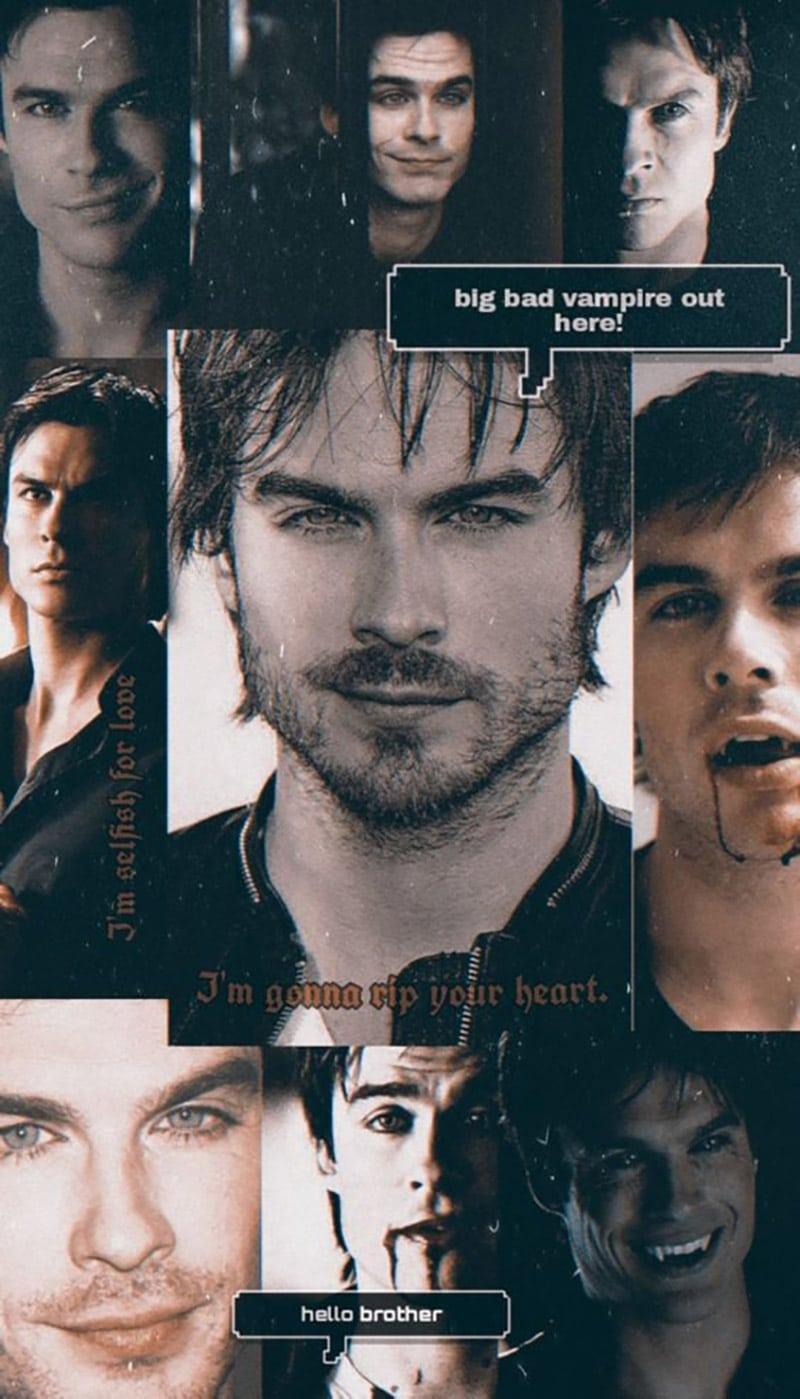 Damon Salvatore (Ian Somerhalder) - The Vampire Diaries