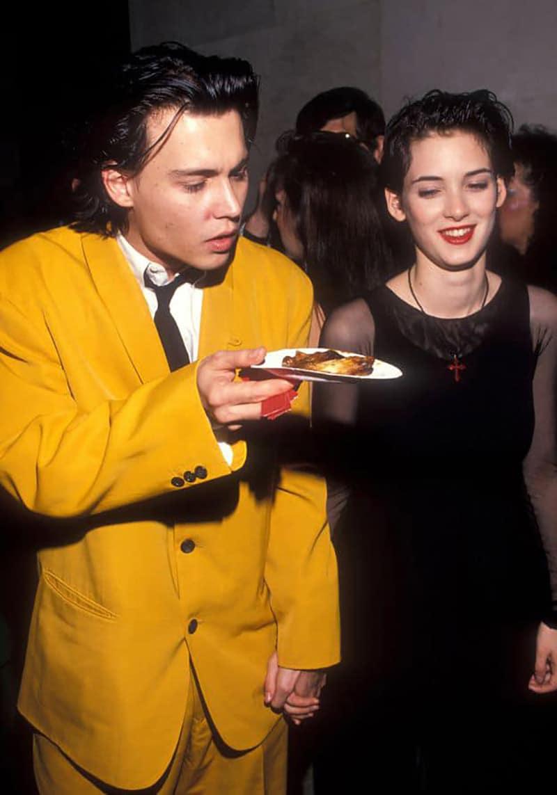 Johnny Depp và Winona Ryder