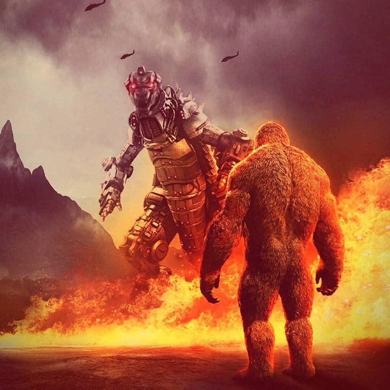 Kong vs Mechagodzilla