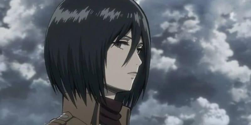 Mikasa có 1/2 dòng máu Châu Á