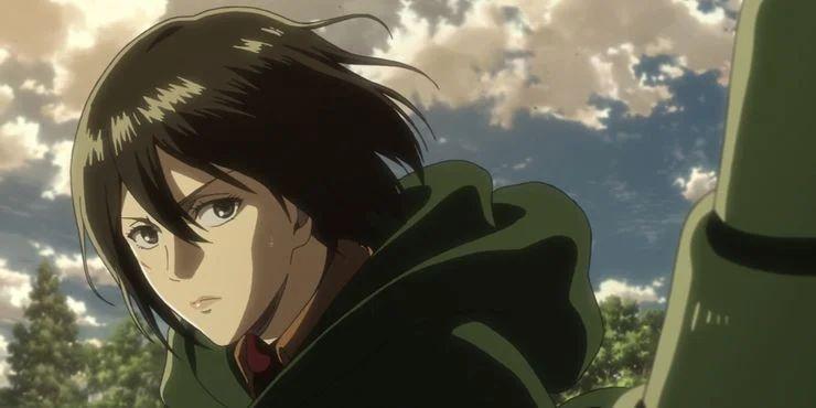 Mikasa tốt nghiệp hạng nhất trong Quân đoàn huấn luyện