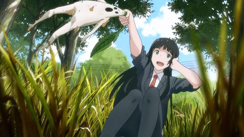 Review anime Flying Witch (2016): Phù thủy đáng yêu