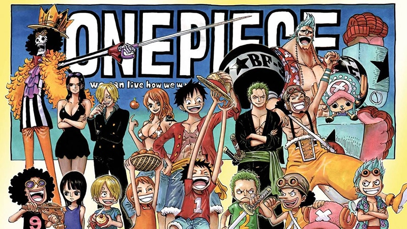 Review manga One Piece