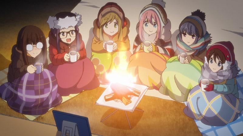 Review Yuru Camp (2018)