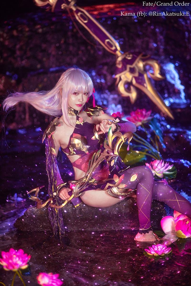 Bộ ảnh cosplay Kama (FGO) (Rin Akatsuki)