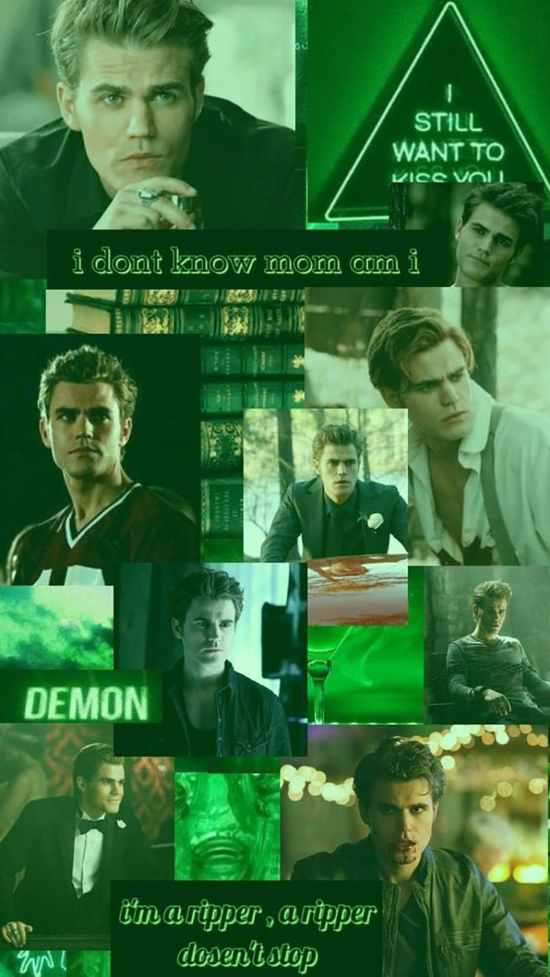 Stefan Salvatore (Paul Wesley) - The Vampire Diaries