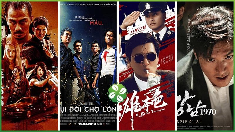 Top 5 bộ phim giang hồ châu Á nên xem