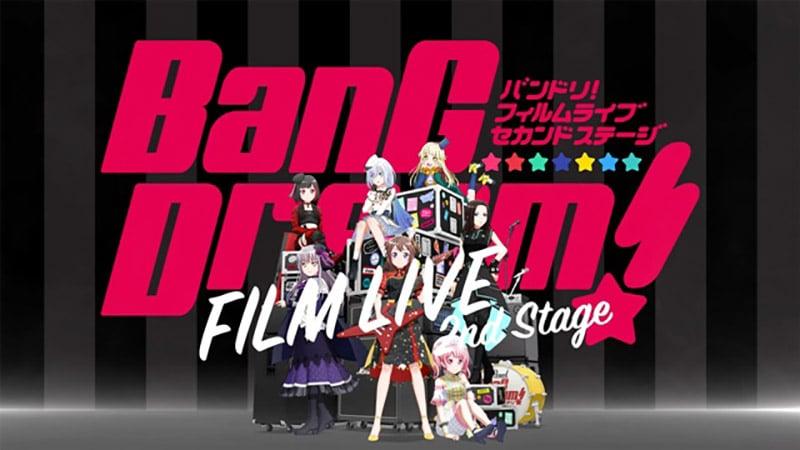 BanG Dream! FILM LIVE 2nd Stage sẽ ra mắt vào tháng 8 năm nay