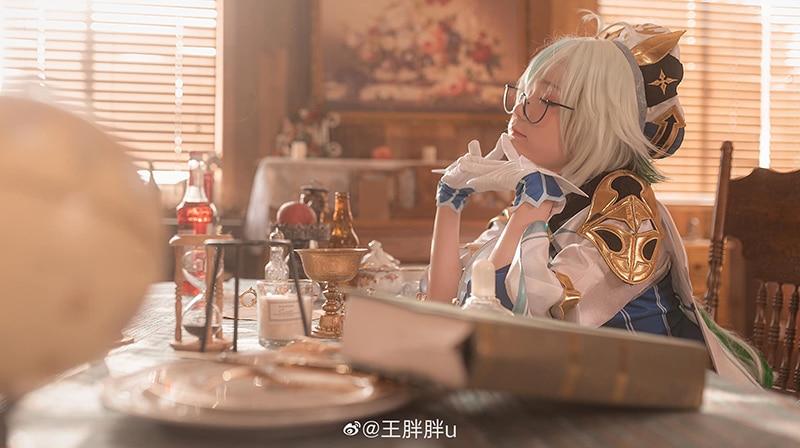 Bộ ảnh cosplay Sucrose (Genshin Impact)