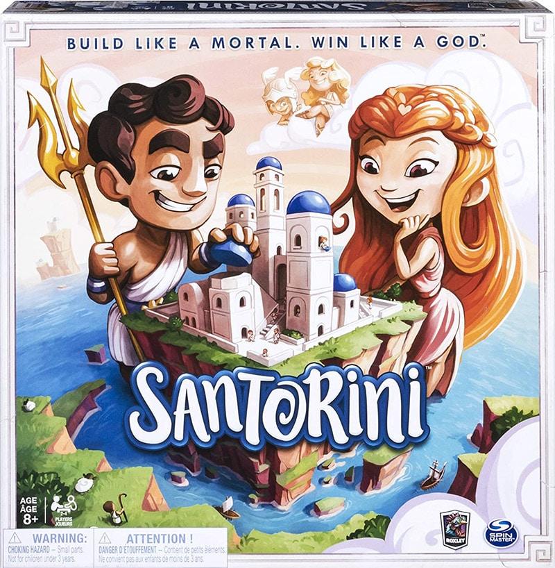 Santorini - Cuộc chiến giữa các vị thần