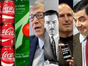 Top 8 thất bại để đời đã thay đổi cả thế giới