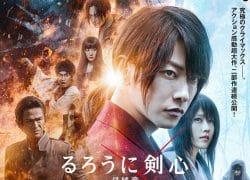 Rurouni Kenshin Final Chapter đứng đầu phòng vé Nhật Bản